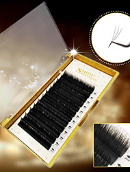 cheap -Eyelash Extensions 1 pcs Simple Women Ultra Light (UL) Comfortable Safety Convenient Animal wool eyelash Dailywear Full Strip Lashes - Makeup Daily Makeup Casual / Daily Cosmetic Grooming Supplies