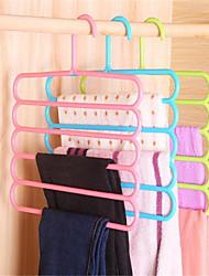 cheap -Plastic Multilayer / Non-Slip Pants / Clothing / Underwear Hanger, 1pc