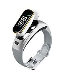 cheap -Smart Bracelet Headphones Bluetooth Earphones Watch Phone Pedometer Smart Band Blood Pressure Heart Rate Oxygen Fitness Tracker
