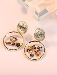 cheap -Women's Drop Earrings Earrings Dangle Earrings Geometrical Rococo Baroque European Fashion Boho Shell Earrings Jewelry Gold For Street Gift Prom Beach Promise 1 Pair