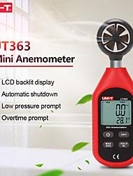cheap -UNI-T UT363 Handheld Anemometer Digital Wind Speed Measurement Temperature Tester LCD Display Air Flow Speed Wind Meter