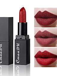 abordables -marque cmaadu diamant mat rouge à lèvres durable imperméable à l'eau pas décoloration flash brillant à lèvres maquillage pour les lèvres