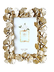 cheap -Photo Frame Retro Golden Ginkgo Leaves Pattern Decorating Photo Frame