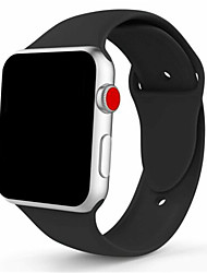 cheap -Silicone Sport Band Strap for Apple Watch iWatch Series 4 3 2 1 38/40mm 42/44mm