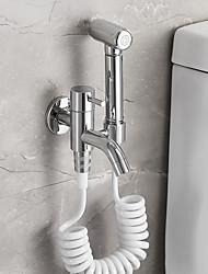cheap -Bidet Faucet ChromeToilet Handheld bidet Sprayer Contemporary