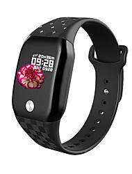 Недорогие -B59 умные часы мужчины женщины 1,3 'цветной экран час кровяное давление кислород сна монитор приложение push спортивные режимы SmartWatch