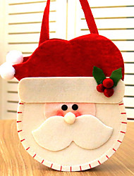 cheap -Christmas Pattern Candy Bag Handbag Containers for Home Party Decoration Kids Gift Bag
