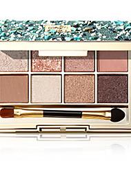 Недорогие -8 цветов Тени Матовое стекло Тени для век Pro Прост в применении Офис Повседневный макияж косметический Подарок