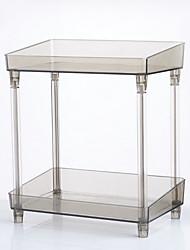 cheap -Storage Organization Cosmetic Makeup Organizer Plastic Square Single-layer