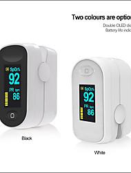 cheap -Fingertip Pulse Oximeter oximetro Portable Blood Pressure Health Care PR Alarm Settingmedical equipment C1