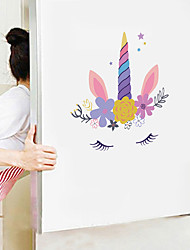 cheap -Cute Cartoon Wall Stickers - Animal Wall Stickers Animals / Landscape Study Room / Office / Dining Room / Kitchen-E