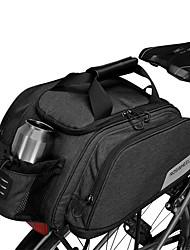 cheap -11 L Bike Rack Bag Portable Waterproof Zipper Wearable Bike Bag 600D Polyester Waterproof Material Bicycle Bag Cycle Bag Cycling Outdoor Exercise Bike / Bicycle