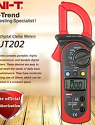 cheap -UNI-T UT202 Digital Clamp Multimeter AC/DC Voltmeter AC Current Meter Resistance Multi Tester