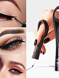 cheap -Ring Eyeliner Black Long Lasting Waterproof Does Not Smudge Cosmetic Quick-Drying Eyeliner Long-Lasting Eye Makeup