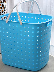cheap -Laundry Basket Plastic Ordinary 1 Storage Bag Household Storage Bags