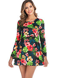cheap -Women's Above Knee Maternity White Black Dress Sheath S M