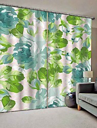 cheap -Hot Fresh Style High Quality Fabric Curtains Bedroom/Office Thickened Full Shade Curtains for Waterproof Mouldproof Moistureproof Shower Curtains