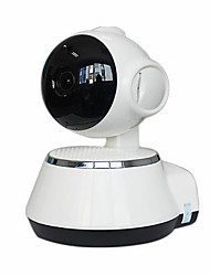 cheap -Factory OEM 1.3 mp IP Camera Indoor Support 32 GB / Wireless / Remote Access / Zoom