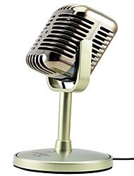 Недорогие -Микрофон Динамический микрофон Проводное 2.2 ohm для студийной записи и вещания Ноутбук ИМАК