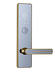 cheap -OS134B Zinc Alloy Intelligent Lock Smart Home Security System Password unlocking / Mechanical key unlocking / APP unlocking Household / Apartment / Office Security Door / Wooden Door (Unlocking Mode