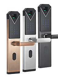 cheap -Security Door Home Apartment Office Intelligent Electronic Fingerprint Touch Password Door Lock