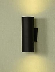 cheap -Matte LED Modern Contemporary Outdoor Wall Lights Outdoor Lights Metal Wall Light IP65 Generic
