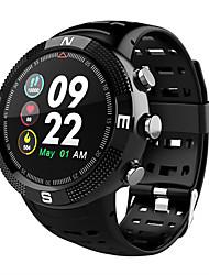 Недорогие -F18 смарт-часы открытый GPS-позиционирования ip68 водонепроницаемый мониторинг артериального давления сердечного ритма фитнес-трекер часы напоминание