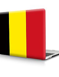 Недорогие -твердая оболочка из пвх с бельгийским флагом для MacBook Pro Air Retina чехол для телефона 11/12/13/15 (a1278-a1989)