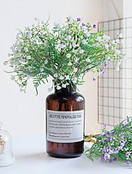 Недорогие -Искусственные цветы Пластик европейский Букет Букеты на стол Букет 3