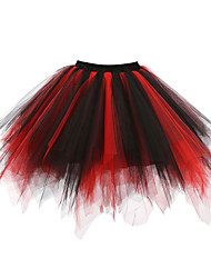 cheap -Wedding / Wedding Party Slips Polyester / Tulle Short-Length Tutus & Skirts with