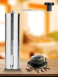 cheap -Coffee Grinder Coffee Grinding Machine Single Mini Ultra Light (UL) Quick Dry for 1 person Stainless Steel Outdoor Camping Traveling Picnic Silver