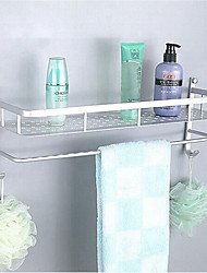 cheap -Bathroom Shelf Multifunction Modern Stainless Steel 1pc - Bathroom Double Wall Mounted