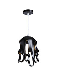 cheap -Iron Art Pendant LightMetal Pendant Ceiling Fixture Pendant Lamp For Dining Living Entrance Hanging Height Adjustable 11.81Width