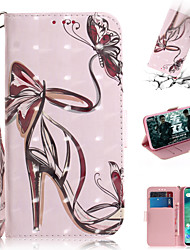cheap -Case For Xiaomi Xiaomi Pocophone F1 / Xiaomi Redmi 6 Pro / Xiaomi Redmi 7 Wallet / Card Holder / with Stand Full Body Cases Sexy Lady PU Leather