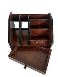 cheap -Wooden Creative Home Organization, 1pc Desktop Organizers