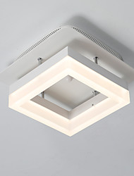 cheap -LED Ceiling Light Square Ceiling Lamp Flush Mount Modern Simple Pendant Lights Downlight Painted Finishes for Corridor Balcony