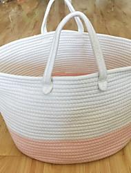 cheap -Fabrics Round Geometric Pattern Home Organization, 2pcs Storage Bags