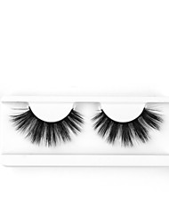 cheap -Neitsi One Pair 6D Synthetic False Eyelashes Black Women Girls Makeup Party Eyelashes Extensions G711