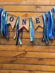 abordables -décorations de vacances objets de décoration du nouvel an décoratif or / bleu / barre de couleur 1pc