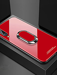 cheap -Tempered Glass Case for Huawei P30 Pro P30 Lite P30 Case Luxury Hard Tempered Glass With Stand Ring Magnet Protective Back Cover Case for Huawei P20 Pro P20 Lite P20