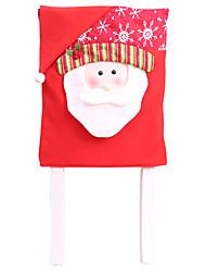 Недорогие -Иу pho_07be рождественские украшения поставки украшения дома украшение стула ресторан отель санта украшение стула красный старик