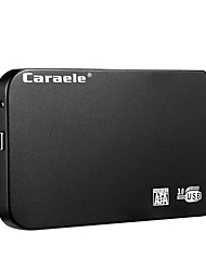 Недорогие -caraele h6 usb3.0 портативный мобильный жесткий диск ультратонкий металлический 2 ТБ