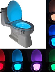 cheap -BRELONG 1 pc  8-color Human Motion Sensor PIR Toilet Night Light
