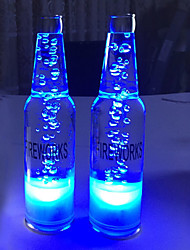 cheap -3D Bottle Nightlight Staycation Color-changing USB Creative October Festival Bar Club Party Decoration 220-240V
