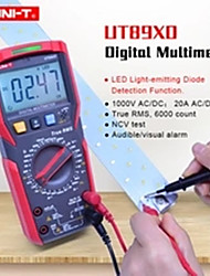 cheap -UNI-T UT89XD TRMS digital multimeter tester ac dc Voltmeter Ammeter Capacitance Frequency Resistance tester with LED testing