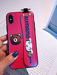 cheap -Case For Apple iPhone XS / iPhone XR / iPhone XS Max Dustproof / Pattern Back Cover Animal / Cartoon TPU