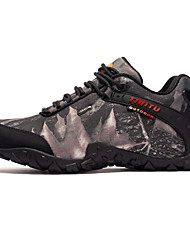 cheap -Men's Sneakers Snow Boots Mountaineer Shoes Waterproof Breathable Anti-Slip Anti-Shake / Damping High-Top Camo / Camouflage Ski / Snowboard Hiking Climbing Spring Fall Winter Grey Khaki / Cushioning