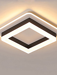 cheap -JSGYlights Geometric Flush Mount Lights Ambient Light Painted Finishes Metal Acrylic New Design 110-120V / 220-240V Warm White / White