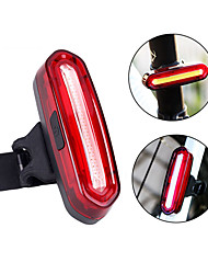 cheap -LED Bike Light Rear Bike Tail Light Safety Light Mountain Bike MTB Bicycle Cycling Waterproof Portable Warning Easy to Install Li-ion Rechargeable USB Red Cycling / Bike - LITBest / IPX 6