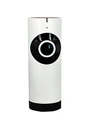 cheap -185 degree wide-angle WIFI smart camera 720P wireless network monitoring mobile remote HD monitor